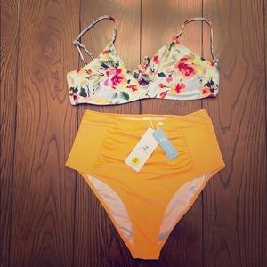 Cupshe High Waisted Bikini Set